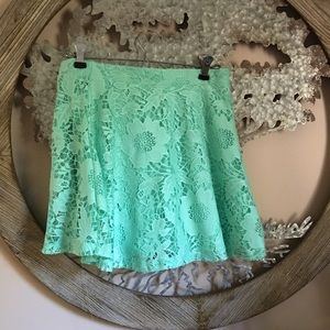 🦋 AEROPOSTALE Refreshing Mint Skirt